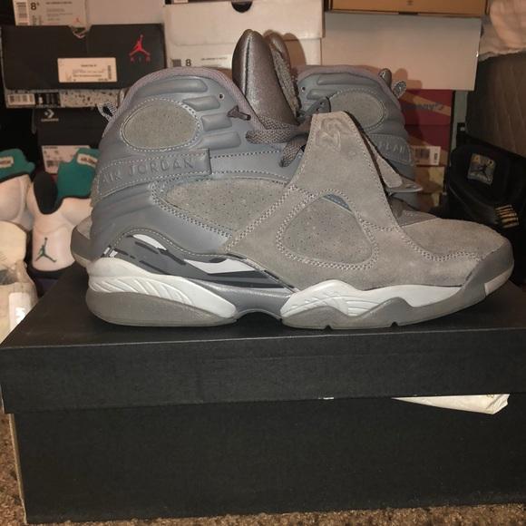 Jordan Shoes   Jordan 8 Cool Grey Used